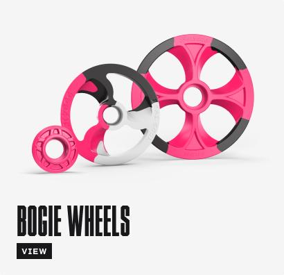 Hot Pink Bogie Wheels